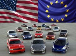 Cars under the order from Georgia and the United States