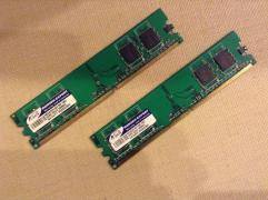 DDR2 2x512mb