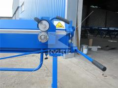 Equipment for bending and cutting metal