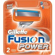 Gillette Fusion Power 2 cartridges in package