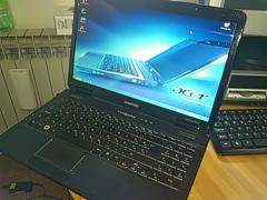 Игровой ноутбук eMashines E430 (тянет танки)