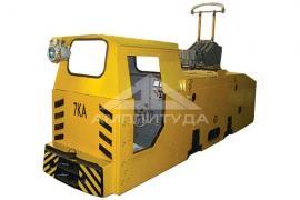 "Mine locomotives from PRJSC PCF ""amplituda"""