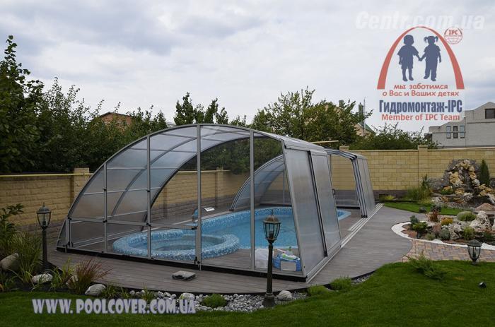 Сделать крышу для бассейна