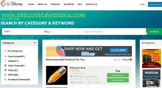 PHP скрипт Каталог   PHP скрипты блог