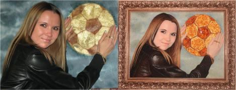 Портреты из янтаря