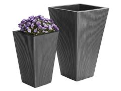 Pot for garden 291863, black