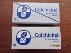 Продам Колхицин табл. 1мг №40