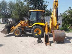 Rent of the jcb 3cx excavator kiev