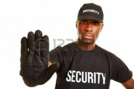 Required security guards, a day or two. There is a part-time job. The RFP daily